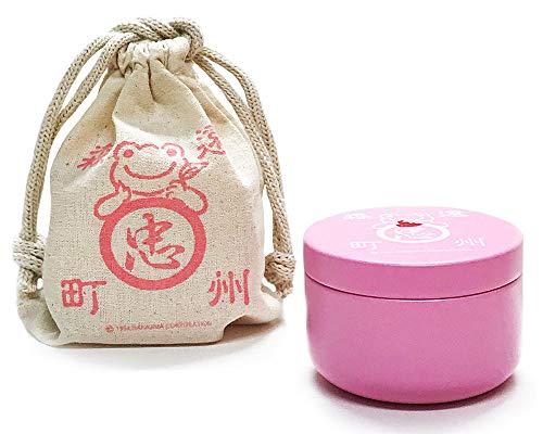 かえるのピクルス・ティーパック缶「いちごフレーバー(巾着・缶・お茶のセット)」