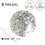 【PREGEL】 プリジェル カラーEX ダイヤモンドシリーズ ダイヤモンドシルバー PG-CE400 4g