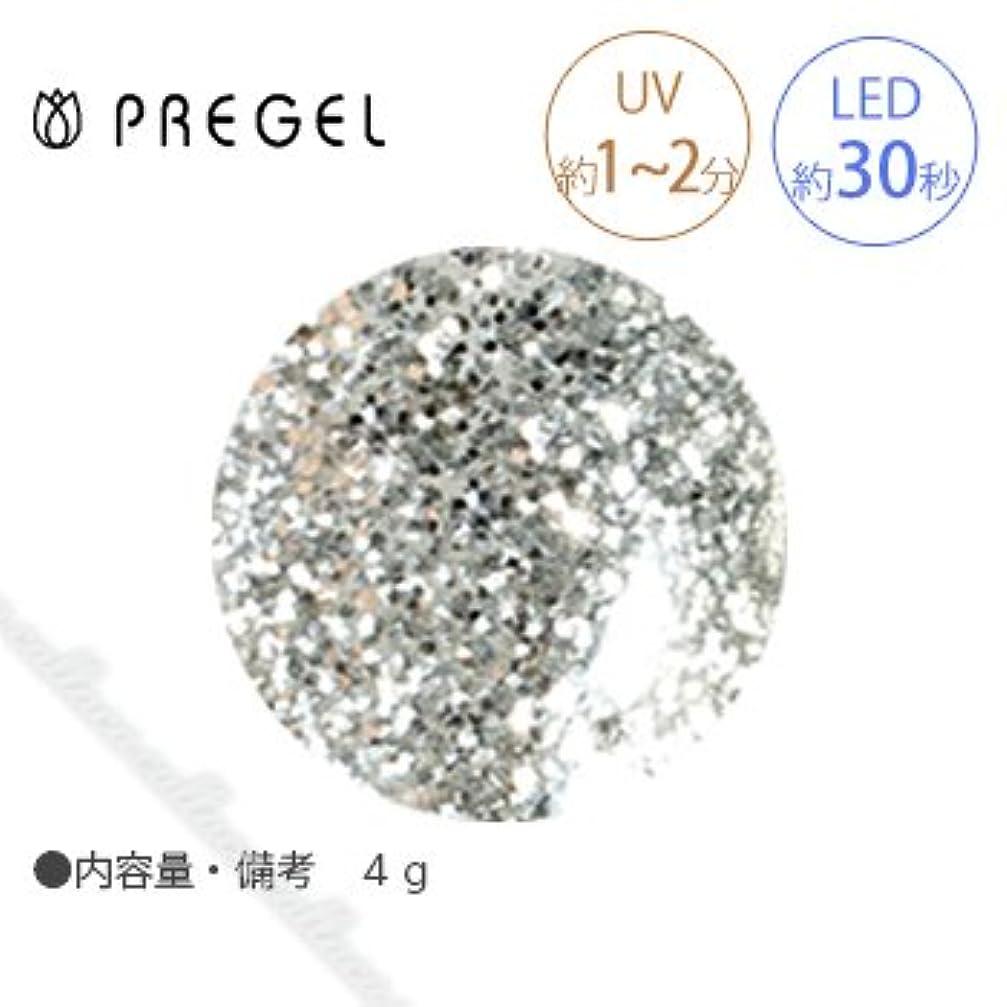 テンション酸報酬の【PREGEL】 プリジェル カラーEX ダイヤモンドシリーズ ダイヤモンドシルバー PG-CE400 4g
