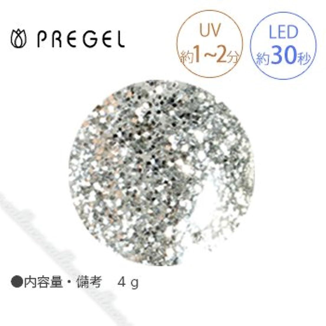 飾り羽紳士打たれたトラック【PREGEL】 プリジェル カラーEX ダイヤモンドシリーズ ダイヤモンドシルバー PG-CE400 4g