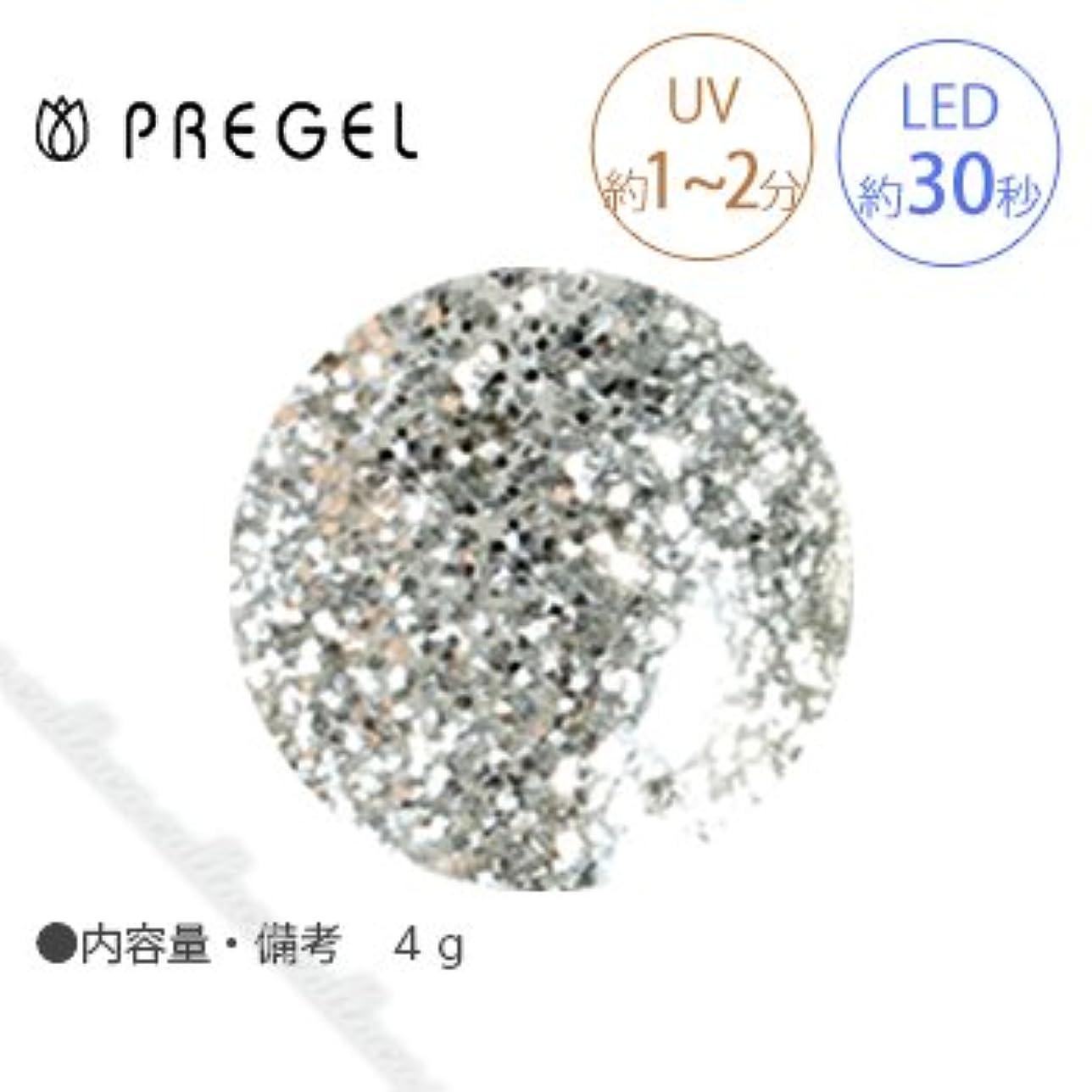 アーチ安全性四半期【PREGEL】 プリジェル カラーEX ダイヤモンドシリーズ ダイヤモンドシルバー PG-CE400 4g