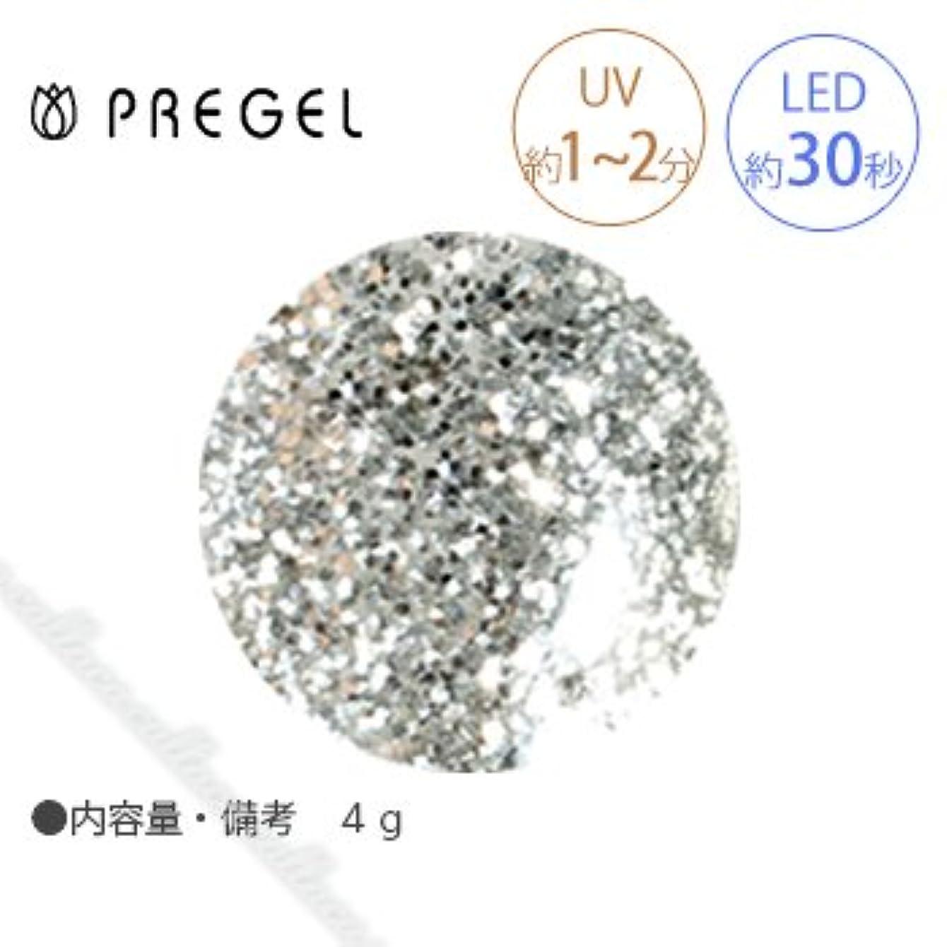 フリース扱う負【PREGEL】 プリジェル カラーEX ダイヤモンドシリーズ ダイヤモンドシルバー PG-CE400 4g