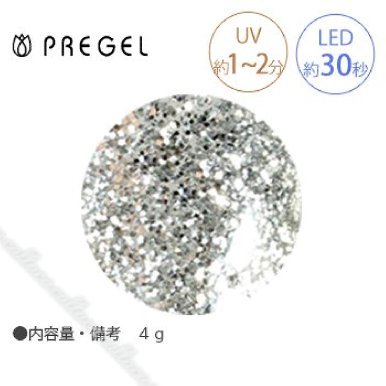 タクト土投票【PREGEL】 プリジェル カラーEX ダイヤモンドシリーズ ダイヤモンドシルバー PG-CE400 4g