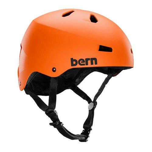 Bern(バーン) MACON Matte Orange Mサイズ メーコン マットオレンジ 自転車用 ヘルメット