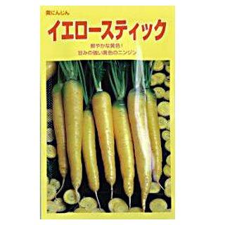 にんじん 種 【イエロースティック】 ペレット200粒
