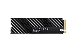 【国内正規代理店品】WD 内蔵 SSD M.2-2280 WD Black ヒートシンク搭載モデル SN750 NVMe 1TB WDS100T3XHC