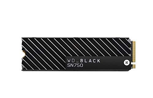【国内正規代理店品】WD 内蔵 SSD M.2-2280 WD Black ヒートシンク搭載モデル SN750 NVMe 500GB WDS500G3XHC