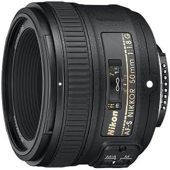 Nikon 単焦点レンズ AF-S NIKKOR 50mm f/1.8G フルサイズ対応 AF-S 50/1.8G