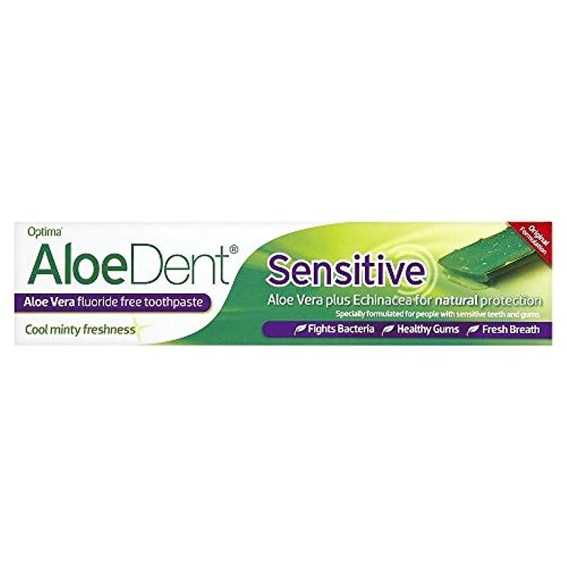 AloeDent 100 ml Sensitive Aloe Vera Fluoride Free Toothpaste by Aloe Dent
