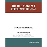 The Org Mode 9.1 Reference Manual