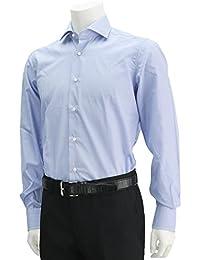 (バルバ) BARBA BRUNO 艶ブロードコットン長袖ドレスシャツ ホワイト系 [並行輸入品]