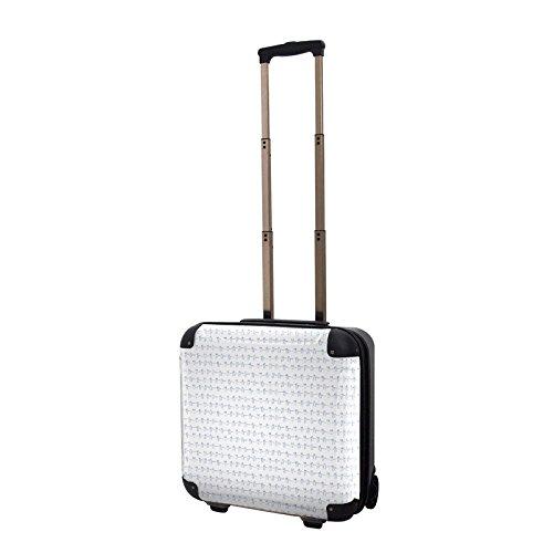 CARART(キャラート) アート スーツケース タカヘイモトコ 人 ジッパー2輪 機内持込 J10408