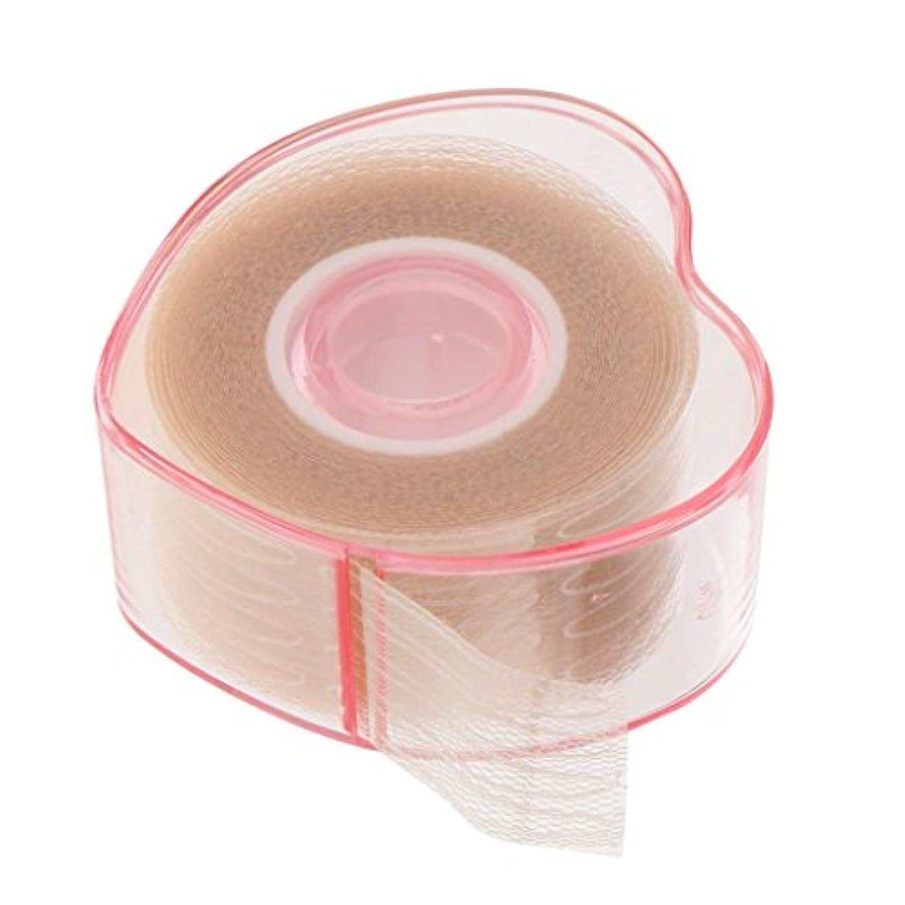 不可能な恒久的共役まつ毛テープ まつ毛ロール 繊維 二重まぶた リフトストリップ ステッカー 粘着性なし 4タイプ選べる - 図示のように, 説明したように