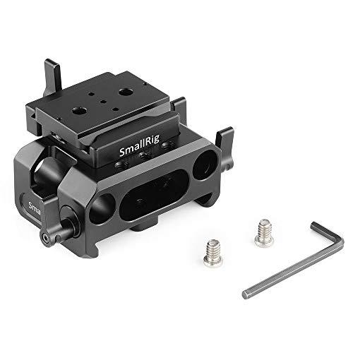 SMALLRIG BMPCC 4K用ベースプレート 15mmロッドサポートシステム付き(Arca互換)-2261