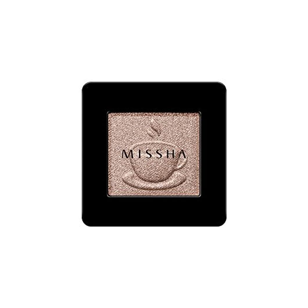 厳箱賢い[2016 F/W New Color] MISSHA Modern Shadow [Shimmer]/ミシャ モダン シャドウ [シマー] (#SBE03 Chocolate Beige)