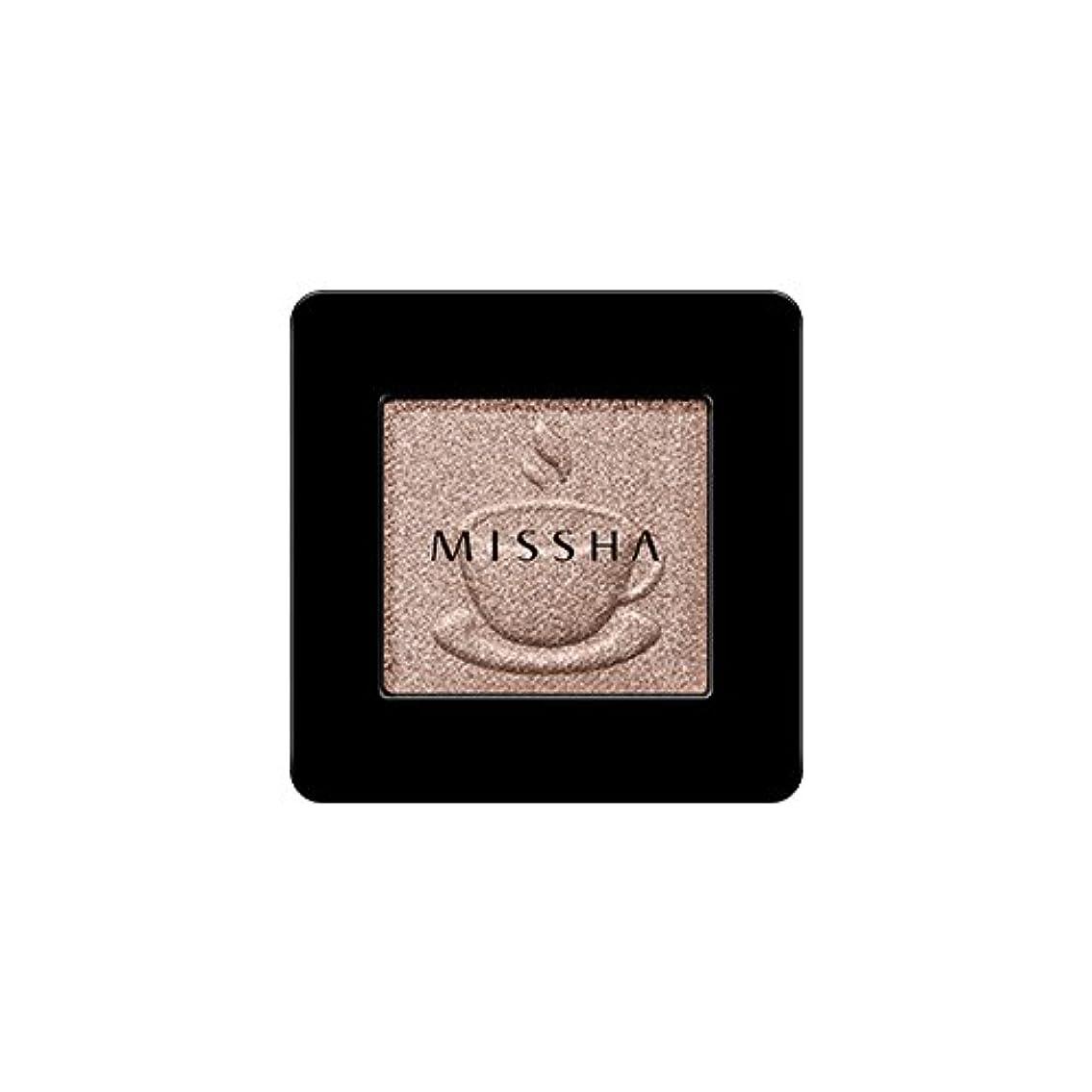 荒野優れたしてはいけません[2016 F/W New Color] MISSHA Modern Shadow [Shimmer]/ミシャ モダン シャドウ [シマー] (#SBE03 Chocolate Beige)