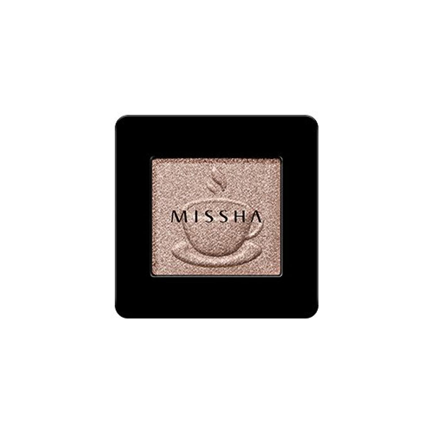 空白困惑する投げる[2016 F/W New Color] MISSHA Modern Shadow [Shimmer]/ミシャ モダン シャドウ [シマー] (#SBE03 Chocolate Beige)