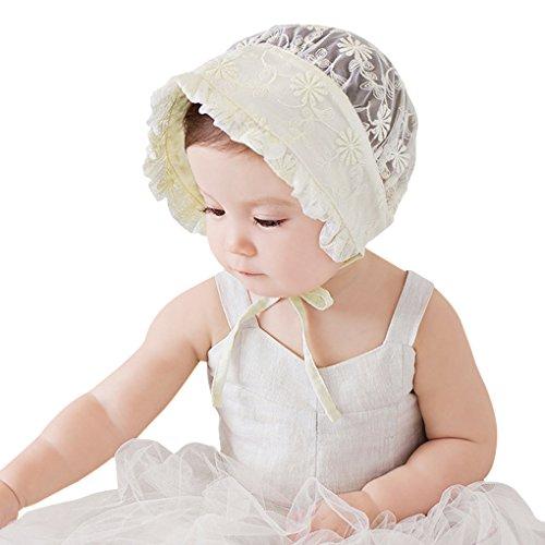 ベビー帽子 夏 6ヶ月~2歳 赤ちゃん用帽子 かわいい 花柄...