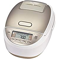 タイガー 炊飯器 5.5合 圧力IH 土鍋コーティング 少量高速炊き 1合約17分 炊きたて ホワイト JPK-A100W