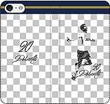 iPhone/Xperia/Galaxy/他機種選択可:サッカー/グラフィティ手帳ケース(デザイン:トッテナム/20番_01) 04 iPhone6Plus/6sPlus