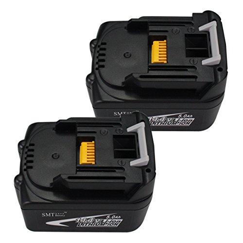 【SMTバッテリー】2個セット MAKITAマキタ 14.4V 5.0Ah 5000mAh BL1450 互換バッテリー BL1430、BL1440 対応