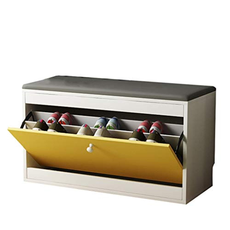 靴のスツールフリップ靴のベンチのストレージスツール多機能ストレージスツールシンプルな近代的な靴のベンチ