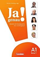 JA Genau!: Kurs- Und Ubungsbuch MIT Losungen Und CD A1 Band 1