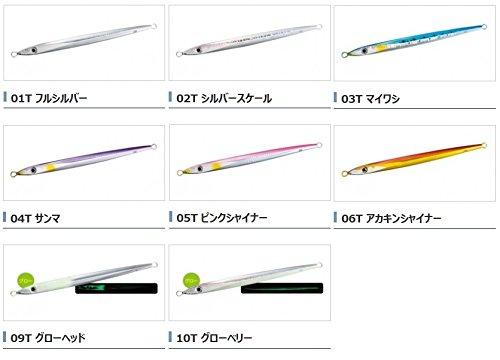 シマノ(SHIMANO) メタルジグ オシア スティンガーバタフライ スピードスラッシャー 201mm 180g シルバースケール 02T JT-218Q ルアー