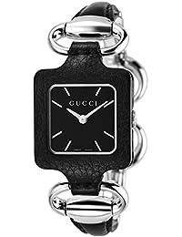 [グッチ]GUCCI 腕時計 1921 黒革&SS YA130402 レディース 【並行輸入品】