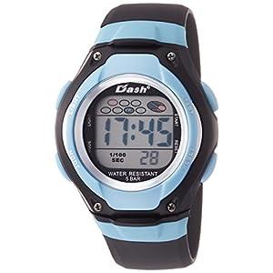 [アリアス]ALIAS 腕時計 デジタル DASH 5気圧防水 ウレタンベルト ブルー ADWW16033DJ5 メンズ