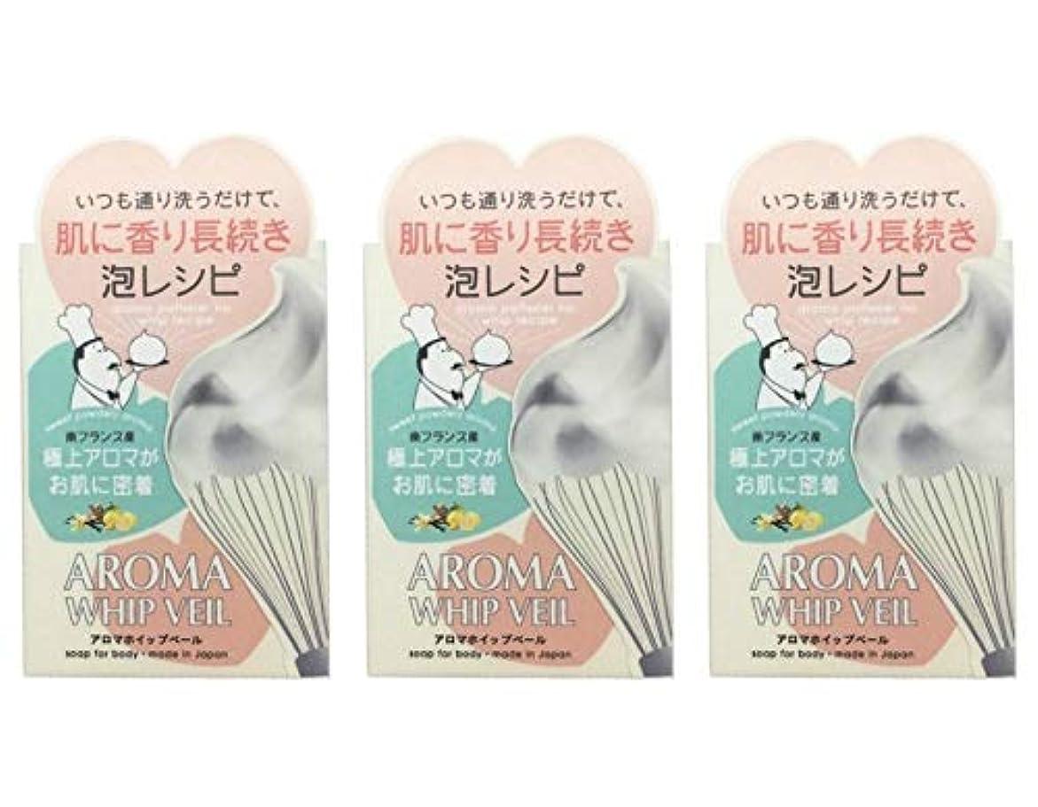 粒子小人交差点【3個セット】ペリカン石鹸 アロマホイップベール石鹸 100g【3個セット】