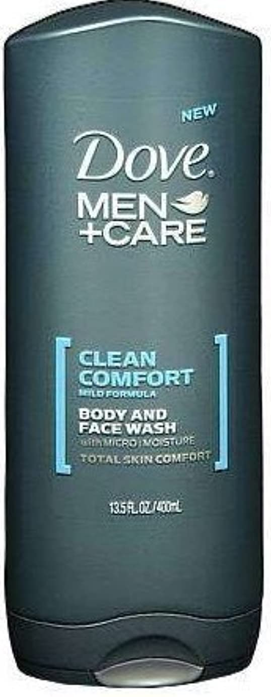 ひいきにする仮定するゲージDove Men+care Body and Face Wash 13.5 Oz (400 Ml) by Dot Foods-Unilever Hpc [並行輸入品]