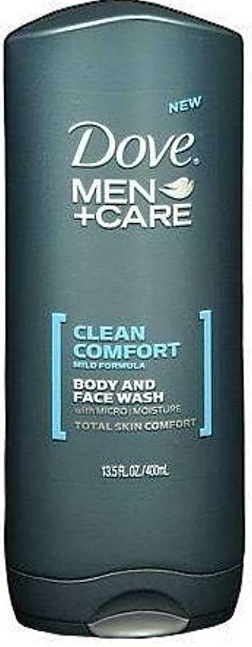 顕微鏡減る重くするDove Men+care Body and Face Wash 13.5 Oz (400 Ml) by Dot Foods-Unilever Hpc [並行輸入品]