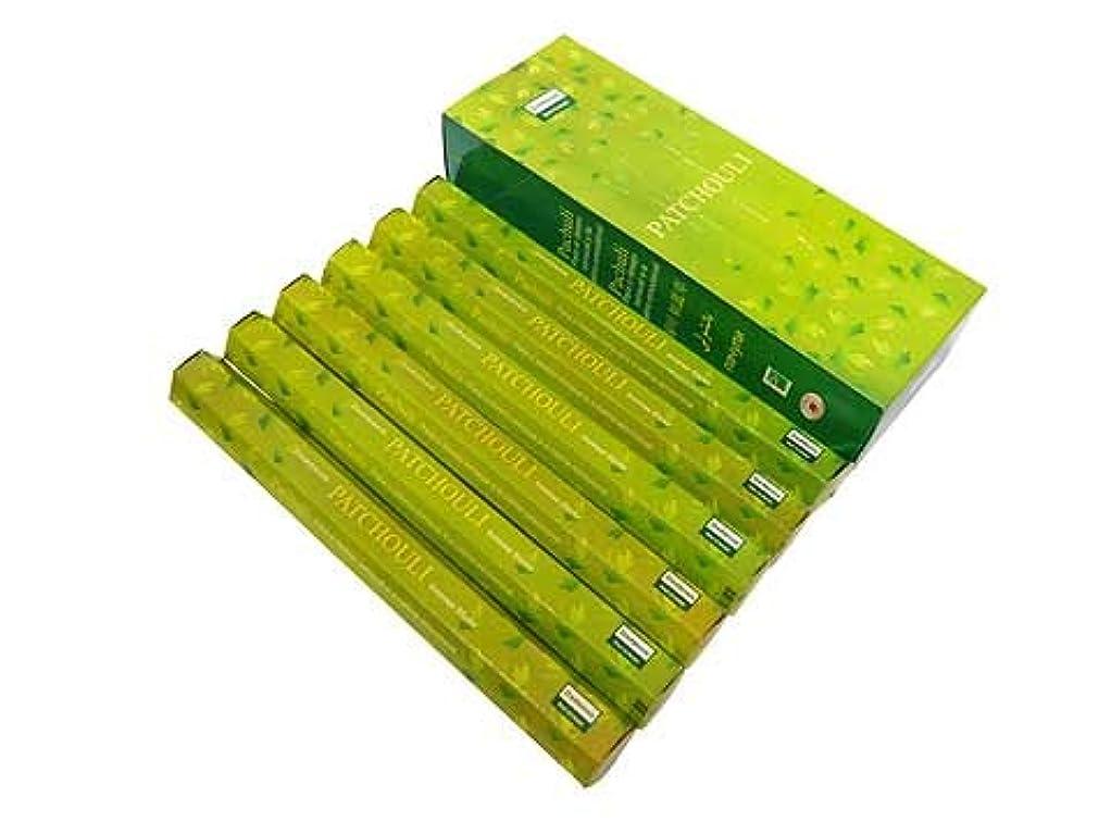 欠伸エンゲージメントホールドDARSHAN(ダルシャン) パチュリ香 スティック PATCHOULI 6箱セット