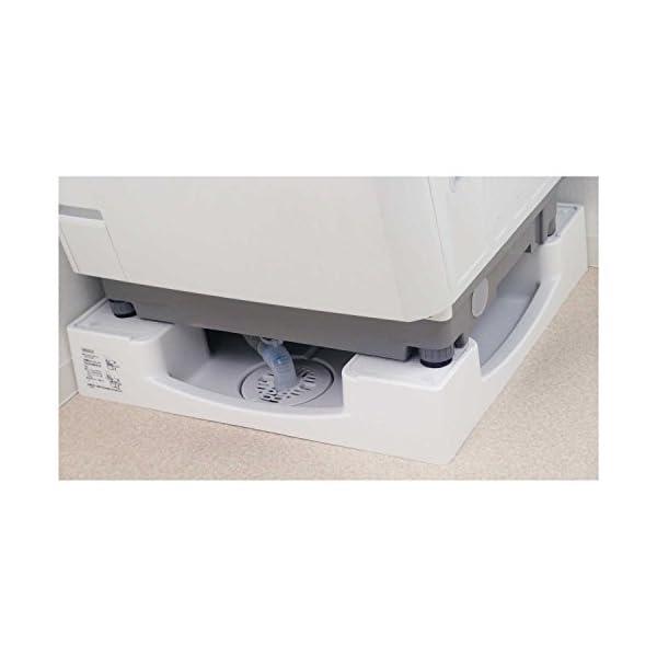 カクダイ 洗濯機用防水パン ホワイト 426-...の紹介画像4