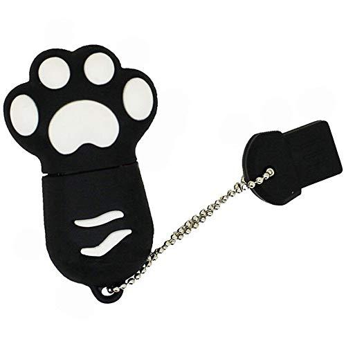 1st market 8 GB USBフラッシュドライブ漫画猫爪UディスクUSBメモリスティックデータストレージ1個黒スタイリッシュで のある品質高くって 長持ちます