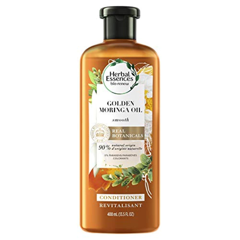 ブラシ野菜検査官Herbal Essences バイオ:滑らかなコンディショナー、ゴールデンモリンガオイル13.5オズリニュー