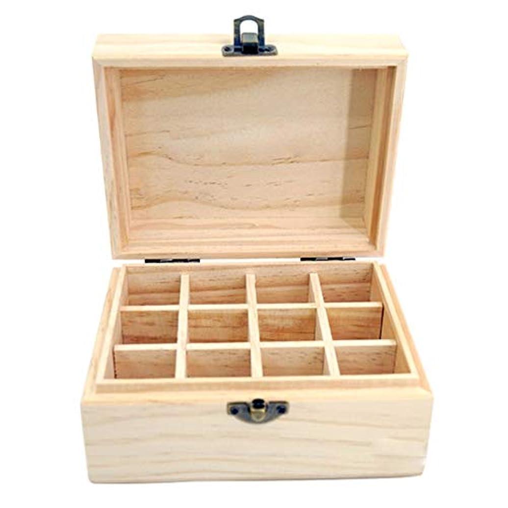 貸す魅力思い出させるエッセンシャルオイルストレージボックス 18スロットエッセンシャルオイル木製ボックス収納ケースは、あなたの油安全保護さを保つ保護します 旅行およびプレゼンテーション用 (色 : Natural, サイズ : 15X11.5X8CM)