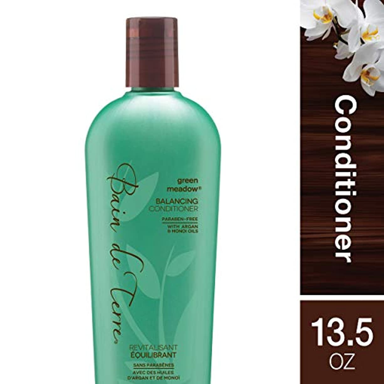 聞く撤回する地理by Bain de Terre GREEN MEADOW BALANCING CONDITIONER 13.5 OZ by BAIN DE TERRE