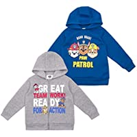 Nickelodeon 2-Pack Paw Patrol Hoodie for Boys Sweatshirt Apparel