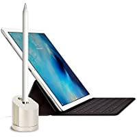 OUTTEK Apple Pencil 充電スタンド 1.5m USBケーブル付き iPad Pro用Apple Pencil充電 ケーブル スタンド アップル ペンシル充電ドック充電器(アルミ素材 シルバー)…