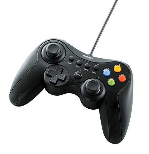 ELECOM (エレコム) ゲームパッド Xinput/DirectInput両対応   B00ABPBLA2 1枚目