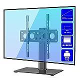 Suptek テレビスタンド 壁寄せテレビ台 32-55インチ対応 VESA400mmx400mmまで 回転 6段目高さ調節可能 耐荷重40KG TS001 画像
