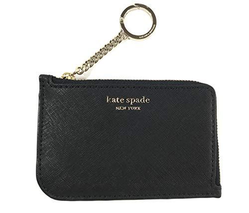 (ケイトスペード) kate spade 財布 小銭入れ (コインパース) KATE SPADE medium l-zip card holder BLACK WLRU5439-001 アウトレット [並行輸入品]