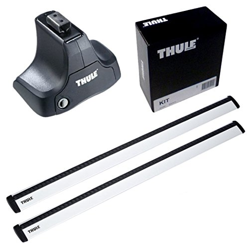 THULE スーリー ベースキャリアセット 754+961+1244 シトロエン C5 ブレークルーフレールなし 2001- X3#/X4# 754+961+1244
