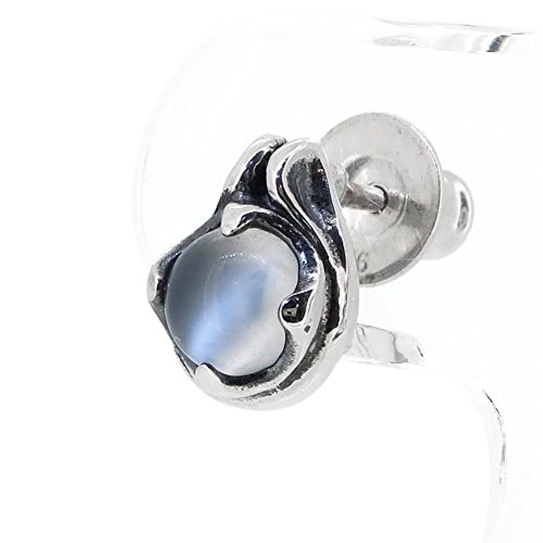 形容詞きつくかまど[スプルーシュ] Sploosh ムーンストーン シルバー ピアス (1P 片耳用) (ブランド専用収納ポーチセット) P-1 人気 ブランド メンズ