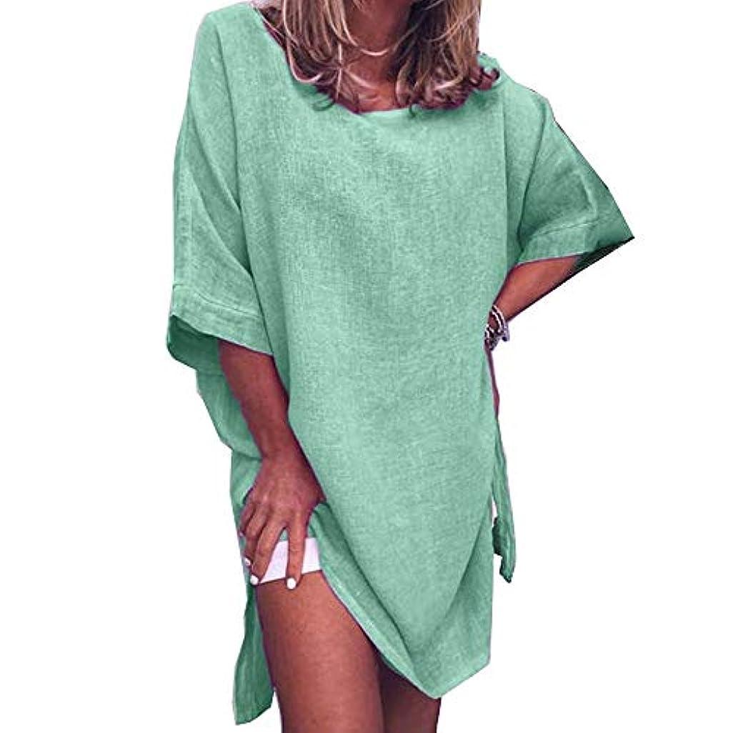 立派な実現可能可動MIFAN サマードレス、ビーチドレス、ルーズドレス、プラスサイズ、リネンドレス、トップス&ブラウス、女性ドレス、カジュアルドレス