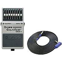 BOSS コンパクトエフェクター Equalizer GEB-7 + 3m ケーブル VOX VGS-30 セット