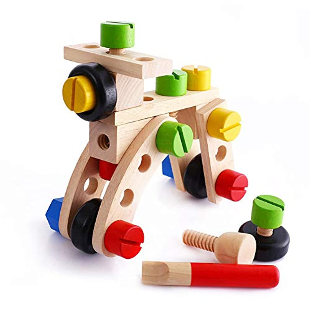 葉に関して亡命おもちゃ 木製教育玩具子供のねじナット解体金額ブロックエヴァー?変更ナットの30件の小品 子供のお誕生日プレゼント