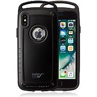 【ROOT CO.】iPhoneX 耐衝撃 ケース GRAVITY Shock Resist Case Pro. (マットブラック)米軍MIL規格取得